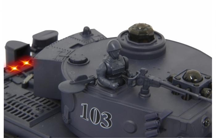 Tancuri cu telecomandă Panzer Tiger Battle 1:28, Jamara 403635 4
