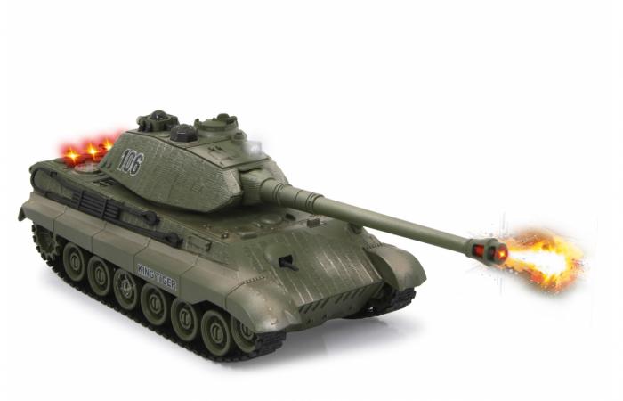 Tancuri cu telecomandă Panzer Tiger Battle 1:28, Jamara 403635 5