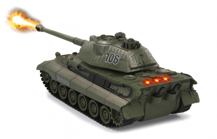 Tancuri cu telecomandă Panzer Tiger Battle 1:28, Jamara 403635 6