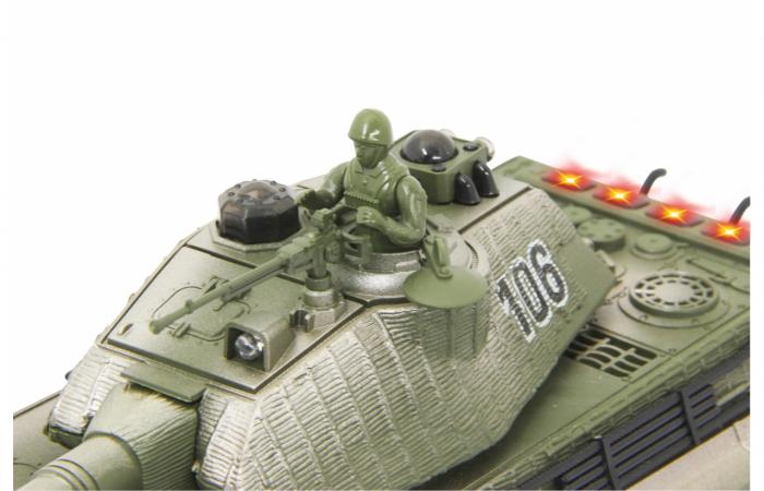 Tancuri cu telecomandă Panzer Tiger Battle 1:28, Jamara 403635 7