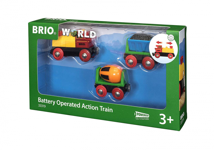 Trenuleț cu baterii, Brio 33319 0