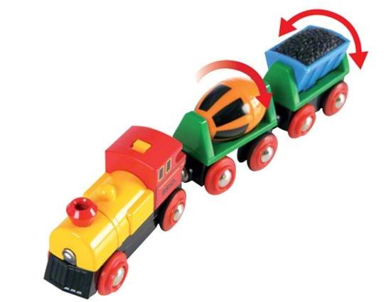 Trenuleț cu baterii, Brio 33319 3