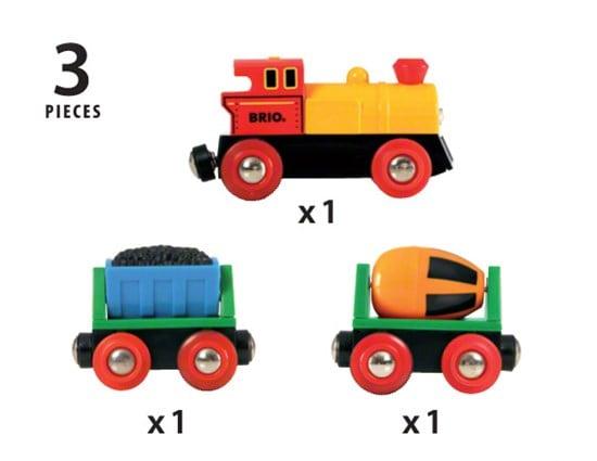 Trenuleț cu baterii, Brio 33319 4