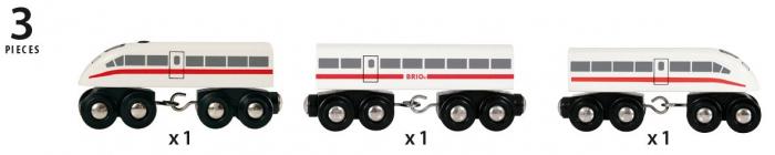 Trenuleț de mare viteză, Brio 33748 3