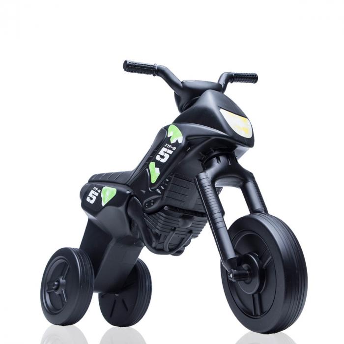 Tricicletă fără pedale Enduro - negru-negru 0