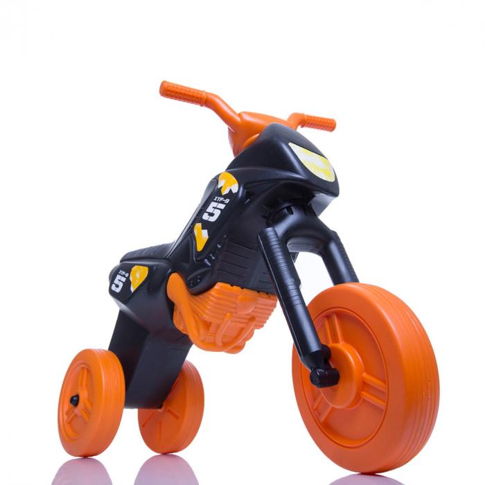 Tricicletă fără pedale Enduro - negru-portocaliu 0