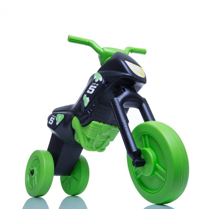 Tricicletă fără pedale Enduro - negru-verde 0