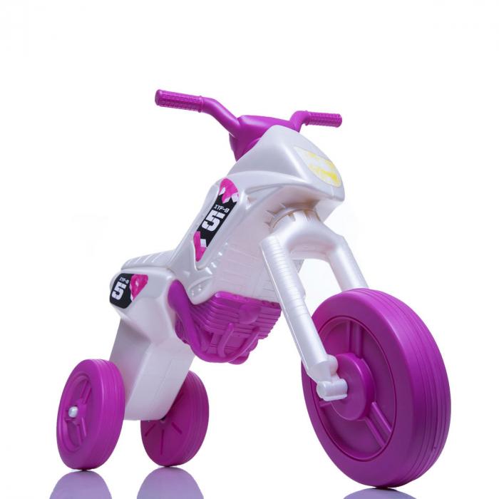 Tricicletă fără pedale Enduro - pearl-purpuriu 0