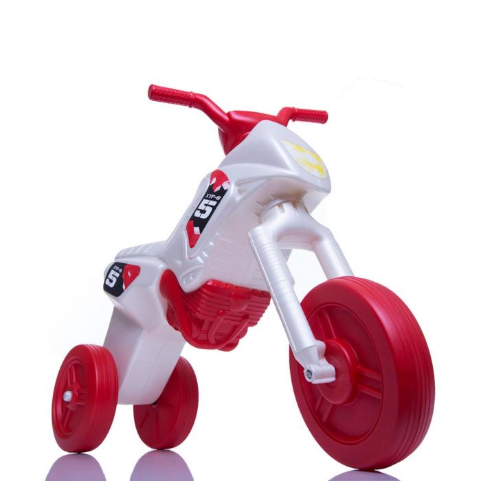 Tricicletă fără pedale Enduro - pearl-roșu 0