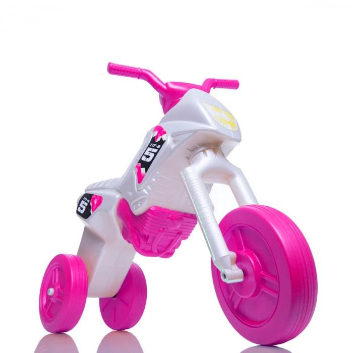 Tricicletă fără pedale Enduro - pearl-roz 0