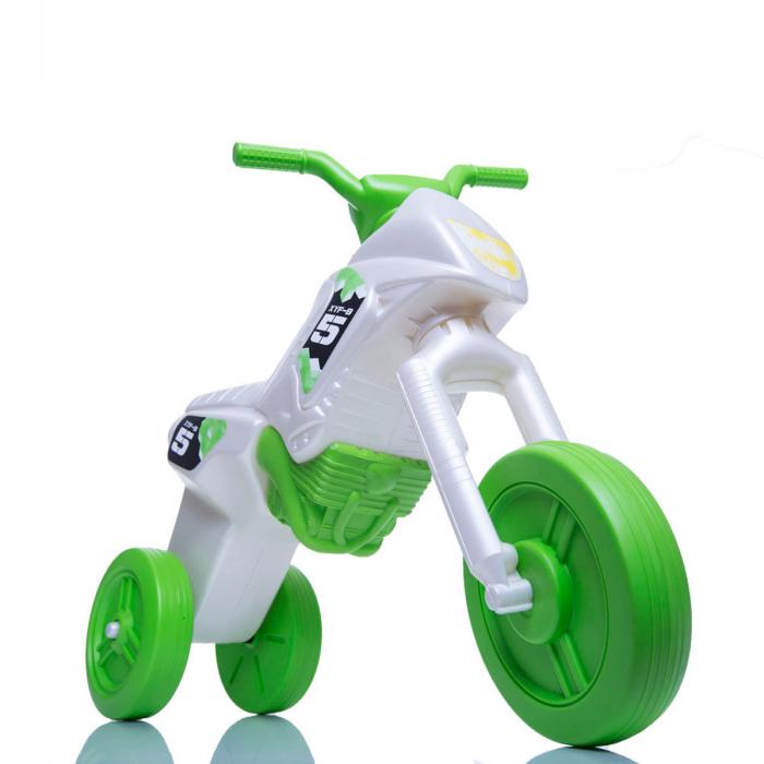 Tricicletă fără pedale Enduro - pearl-verde 0