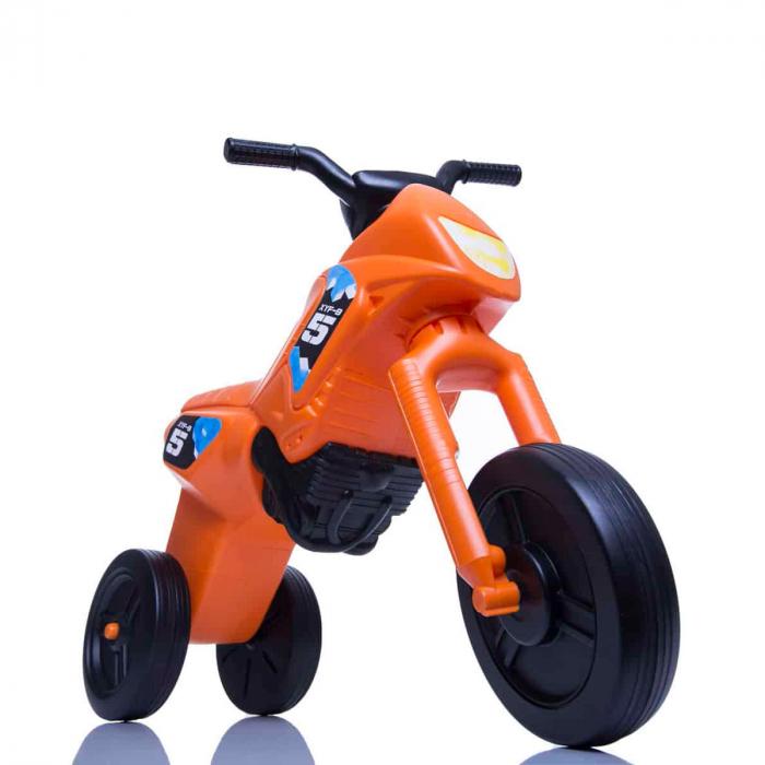 Tricicletă fără pedale Enduro - portocaliu-negru [0]
