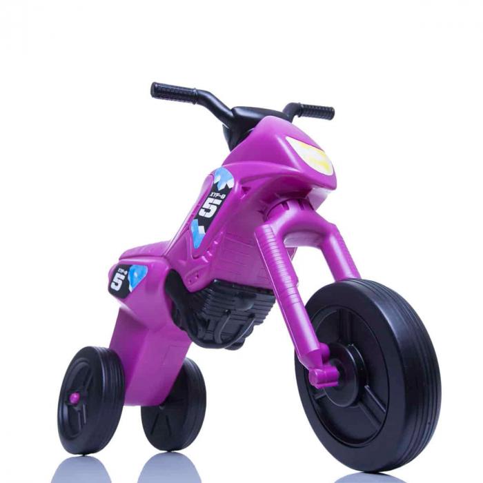 Tricicletă fără pedale Enduro - purpuriu-negru [0]