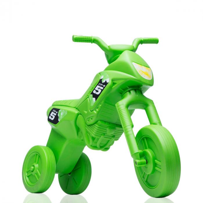 Tricicletă fără pedale Enduro - verde-verde 0