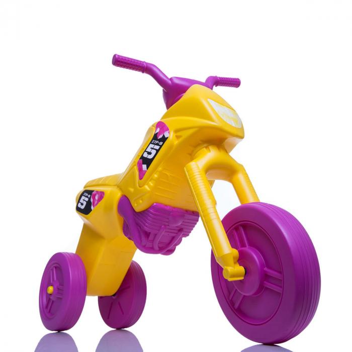 Tricicletă fără pedale Enduro - galben-purpuriu [0]