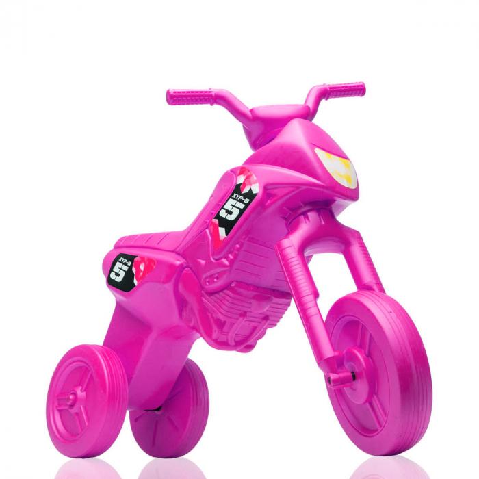 Tricicletă fără pedale Enduro - roz-roz [0]