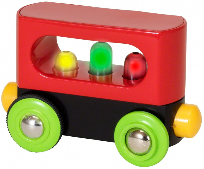 Vagon cu leduri - Primul meu trenuleț, Brio 33708 1
