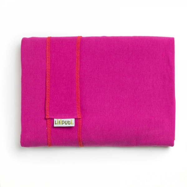 Wrap elastic Liliputi® Classic line - Fuchsia Blooming 1