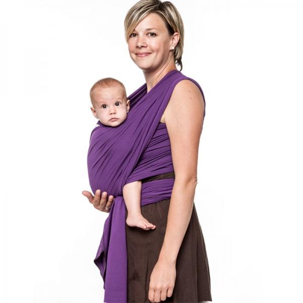 Wrap elastic Liliputi Classic line - Purple Lotus 0