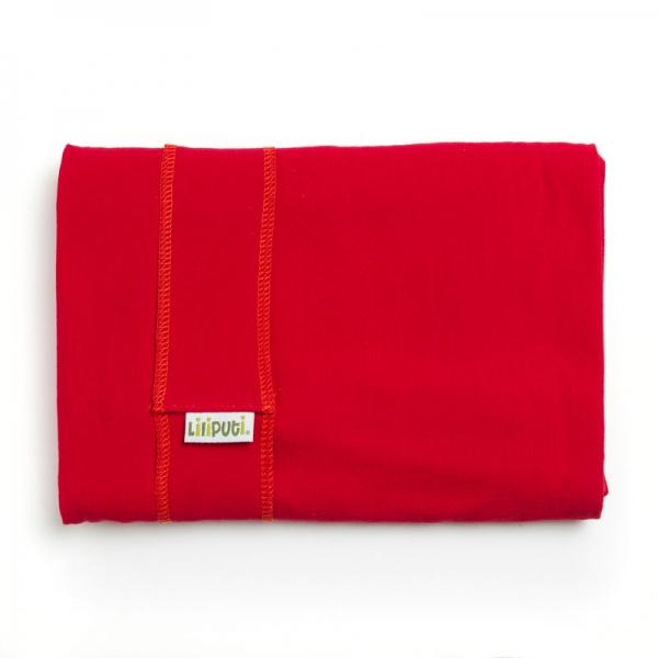 Wrap elastic Liliputi® Classic line - Red Carmin 1