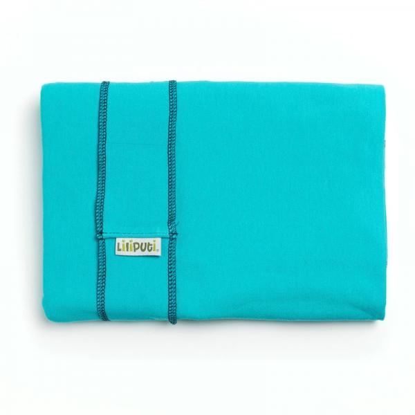Wrap elastic Liliputi® Classic line - Turquise Summer 1