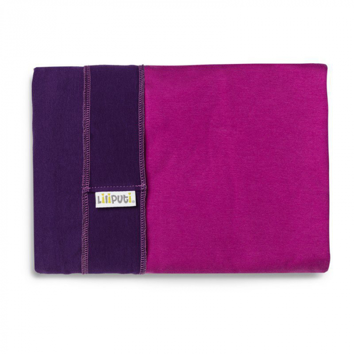 Wrap elastic Liliputi® Duo line - Purple-Fuchsia 1