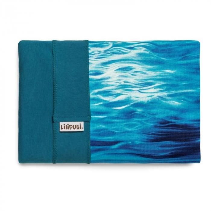 Wrap elastic Liliputi® Rainbow line - Aqua 1