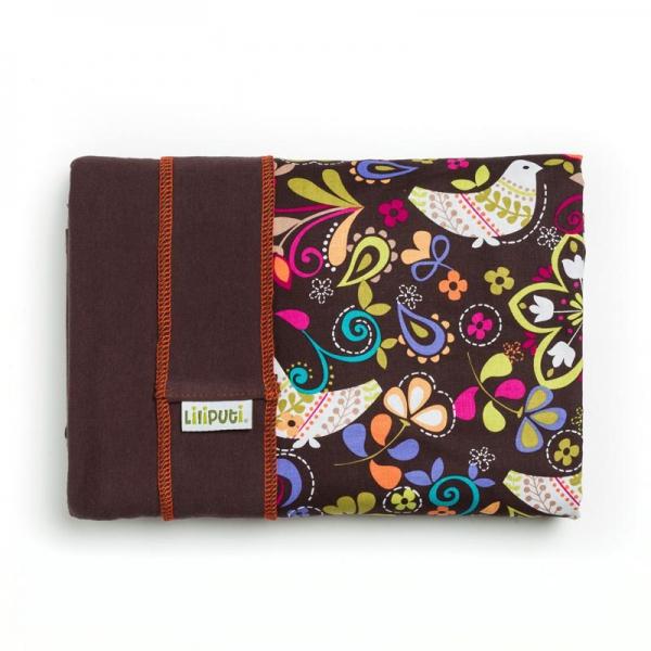 Wrap elastic Liliputi® Rainbow line - Folk-tale 1