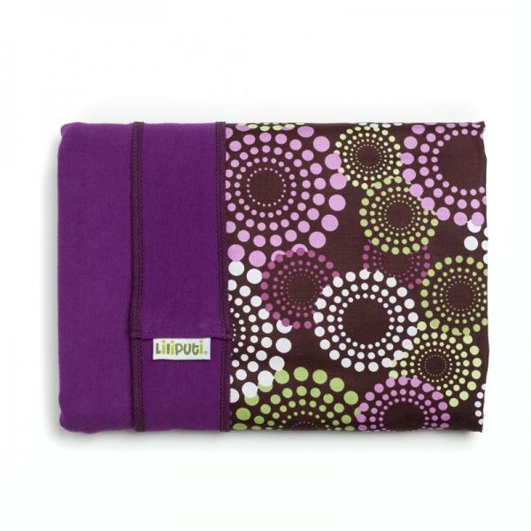 Wrap elastic Liliputi® Rainbow line - Lavendering 1