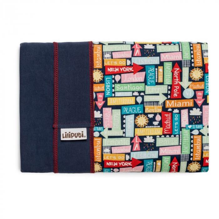 Wrap elastic Liliputi® Rainbow line - Traveller 1