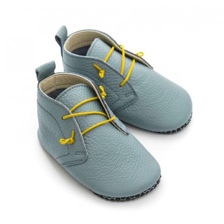 Șireturi elastice - pantofi Liliputi Urban - Yellow2