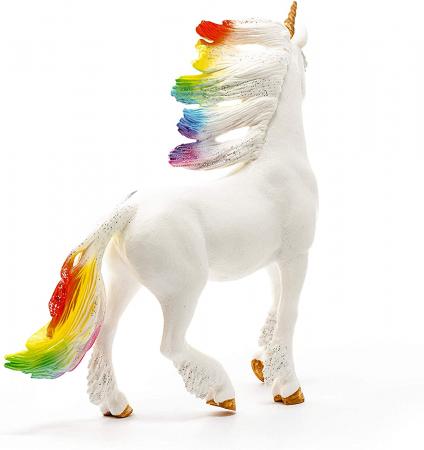 Armăsar unicorn curcubeu cu strasuri - Figurina Schleich 705231