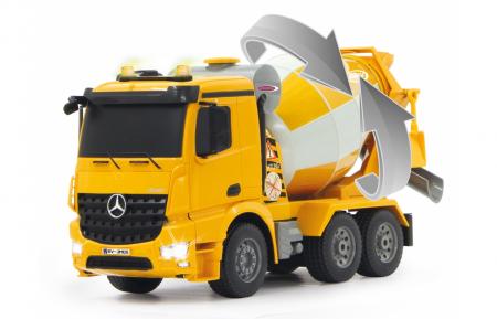 Betonieră cu telecomandă Mercedes-Benz Arocs 1:20, Jamara 404930 [4]