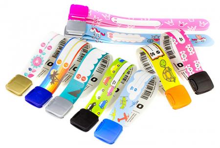 Brățară refolosibilă de identificare pentru copii Infoband - Cu iepuraș2