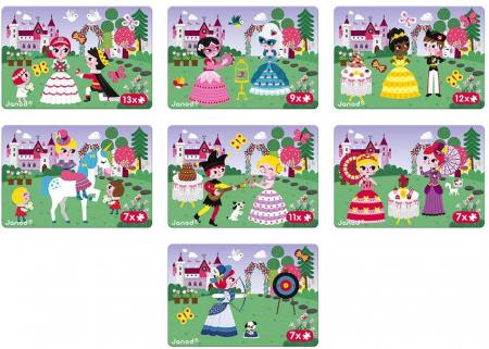 Carte magnetică - Prințesă - Janod J027253