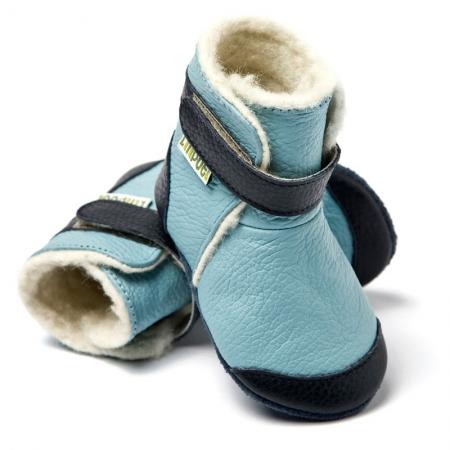 Cizme cu talpă moale Liliputi® - Eskimo Blue [2]
