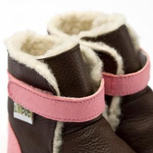 Cizme cu talpă moale Liliputi® - Alps Brown1