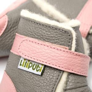 Cizme cu talpă moale Liliputi® - Alps Grey2