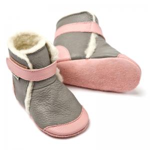 Cizme cu talpă moale Liliputi® - Alps Grey1