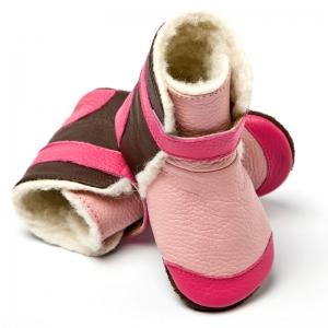 Cizme cu talpă moale Liliputi® - Yukon Pink2