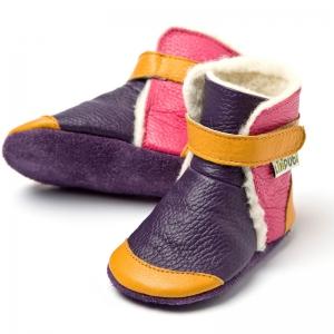 Cizme cu talpă moale Liliputi® - Yukon Yellow2