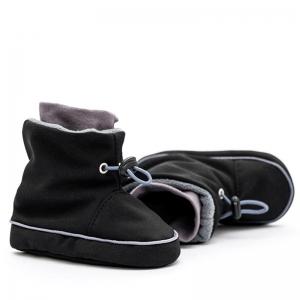 Cizme la purtat Liliputi® - Black Grey1