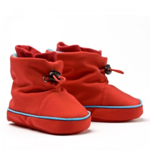 Cizme la purtat Liliputi® - Red-turquoise0
