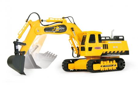 Excavator cu telecomandă J-Matic 1:27, Jamara 4049202