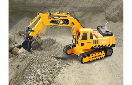Excavator cu telecomandă J-Matic 1:27, Jamara 4049207