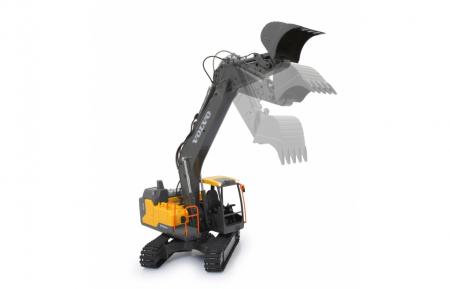 Excavator cu telecomandă Volvo, Jamara 4050551