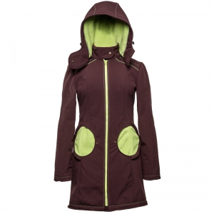 Geacă pentru mămici 4in1 Liliputi® - Brown-green0