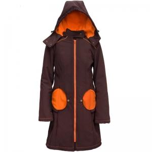 Geacă pentru mămici Liliputi® - Brown-orange0