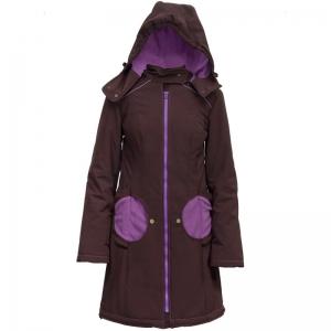 Geacă pentru mămici Liliputi® - Brown-purple