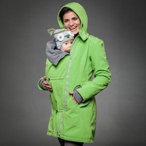 Geacă pentru mămici Liliputi® - Green-grey